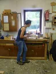 Holzbearbeitung II © Frau Ermer